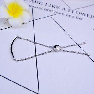 💕Michael Kors One Word Logo Adjustable Bracelet